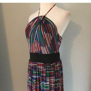 Trina Turk Women's Striped Halter Dress Size 6